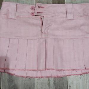 Jrs. Mini pleated skirt